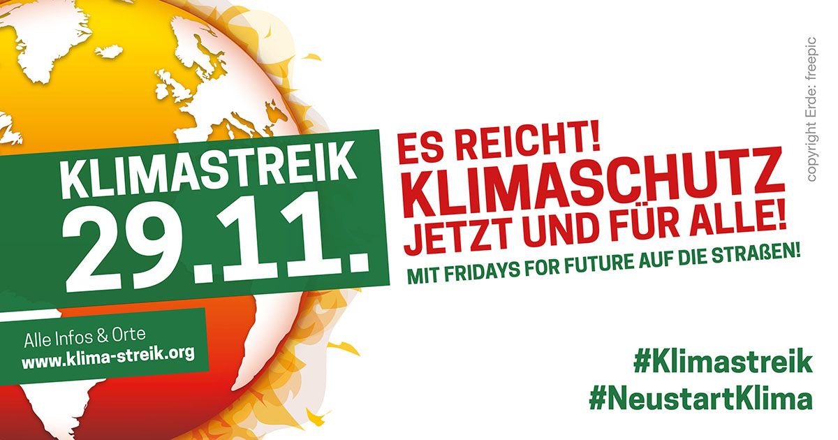 fridays for future 29.11